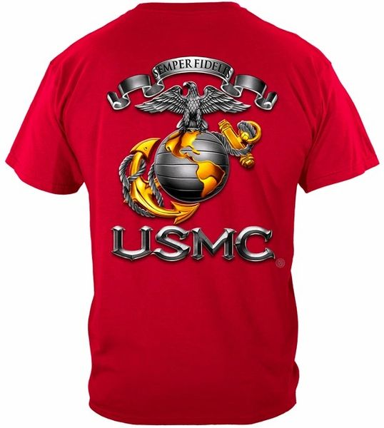 USMC SEMPER FIDELIS Eagle Globe and Anchor T-Shirt | MM118