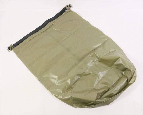 US Military USGI Waterproof Pack Liner Assembly, 8465-01-591-7521, Large, Molle, Tan | USED