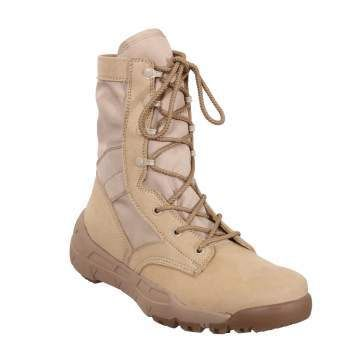 Rothco V-Max Lightweight Tactical Boots | Desert Sand | 5364