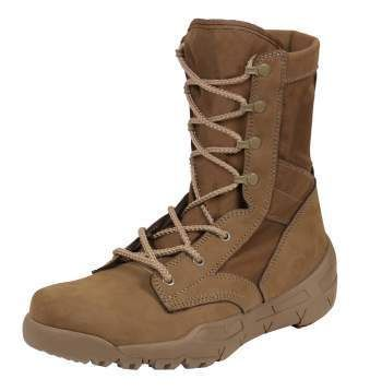 Rothco V-Max Lightweight Tactical Boot | AR 670-1 Coyote Brown | 5366