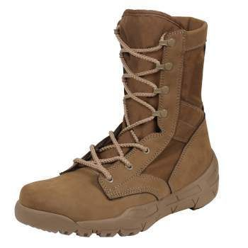 Rothco Waterproof V-Max Lightweight Tactical Boots - AR 670-1 Coyote Brown | 5769