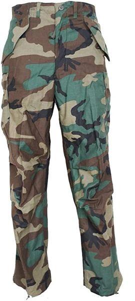 USGI Vintage M65 Field Pants Woodland Camouflage - XS REGULAR