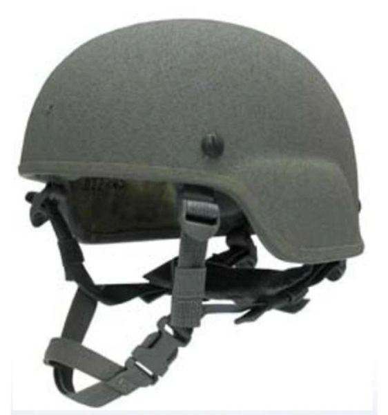 Advanced Combat Helmet (ACH), LARGE, Standard U.S. Army Version with H-Harness, NSN 8470-01-529-6344