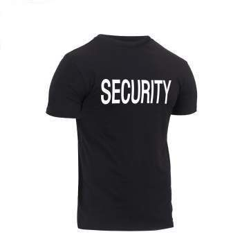 Security T-Shirt | Rothco Athletic Fit
