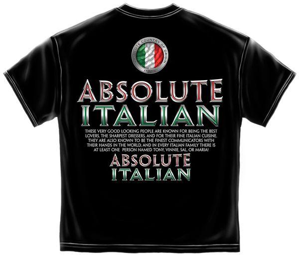 Absolute Italian T-Shirt