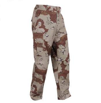 6-Color Desert Camo Tactical BDU Pants | 8835