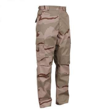 Tri-Color Desert Camo Tactical BDU Pants | 8965