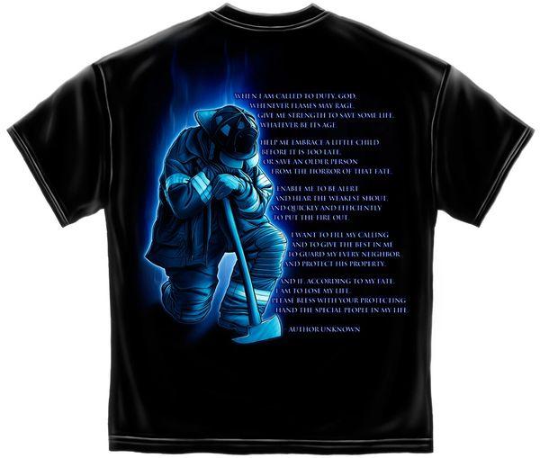 Fireman's Prayer T-Shirt | FF2011