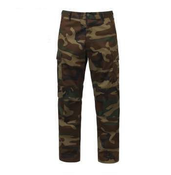 Woodland Camo Tactical BDU Pants | 7941