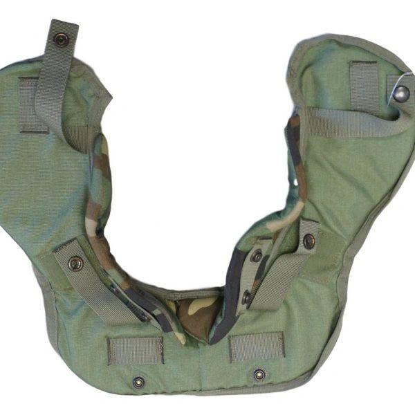 Woodland Interceptor Body Armor Interceptor Yoke and Collar, Outshell, XL 8470-01-465-4661