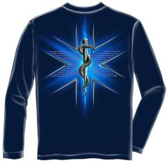 Long Sleeves EMS Prayer T-Shirt
