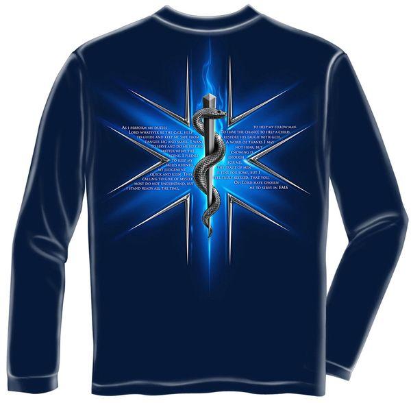 Long Sleeves EMS Prayer T-Shirt