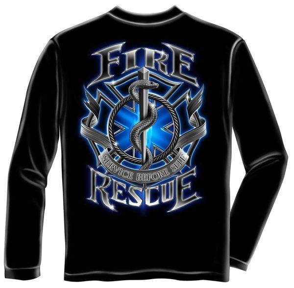 Long Sleeve Fire Rescue T-Shirt | FF2056LS