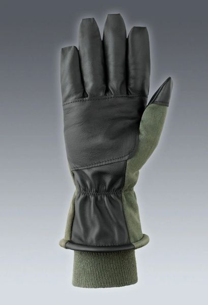 Nomex Cold Weather Flyer's Gloves, Sage Green   Size 10 - NEW