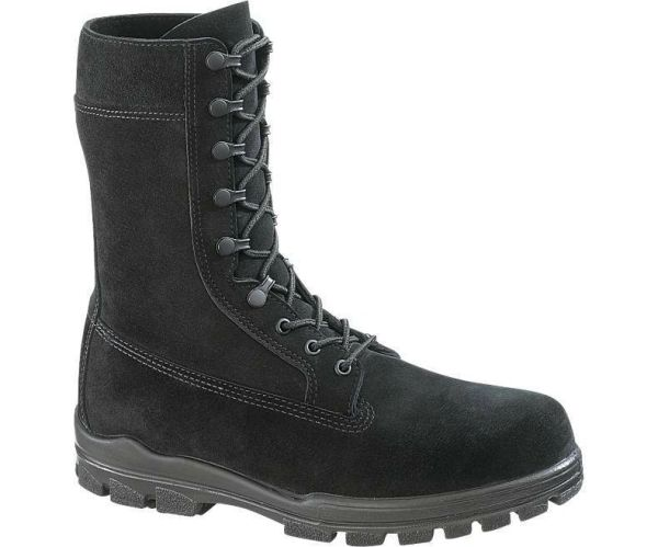 Bates Mens 9 Inches Suede Durashocks Steel Toe Work Boot | E01421