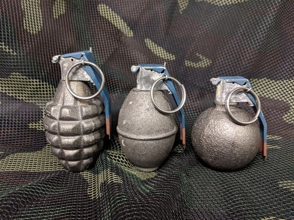 Dummy Grenade 3 Pack Assortment