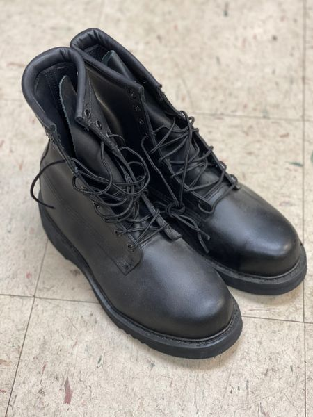 BATES MEN'S 8-INCH BLACK SAFETY BOOTS E01950A