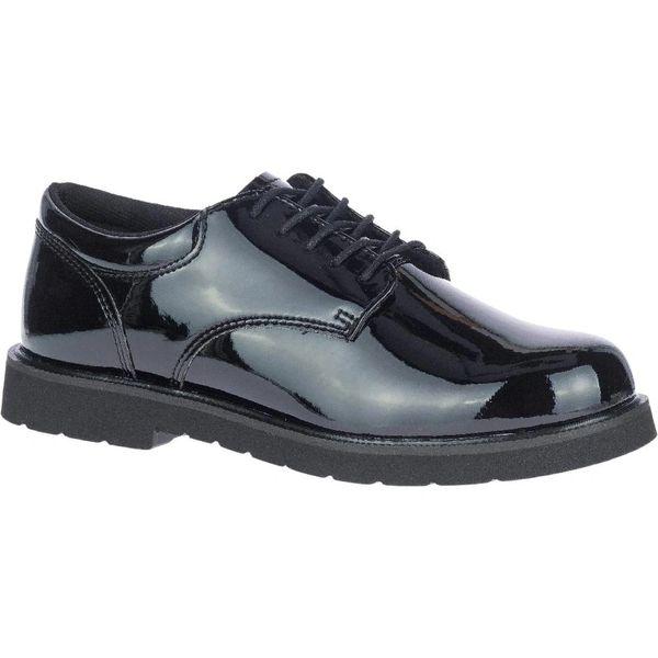 Bates Men's High Gloss Duty Oxford E22141