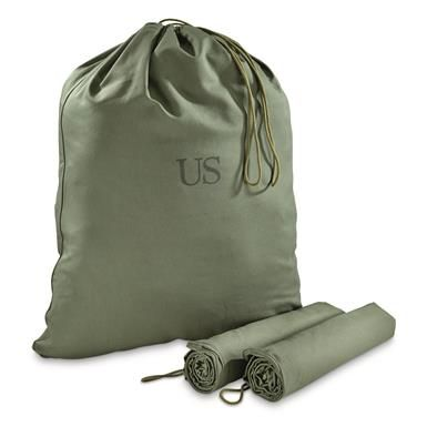 US Military Laundry Bag | OD Green | NEW - 3 Pack