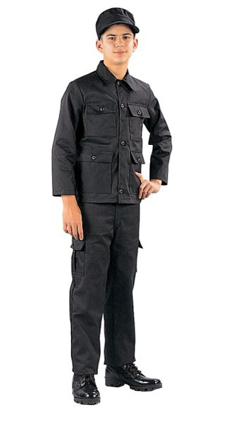 Rothco Kid's Black BDU Pants