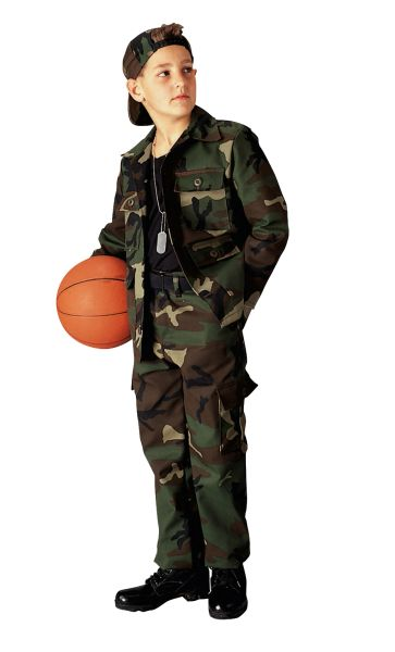 Rothco Kid's Camo BDU Pants