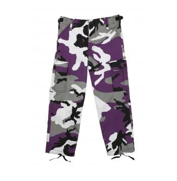 Rothco Kid's Ultra Violet Camo BDU Pants