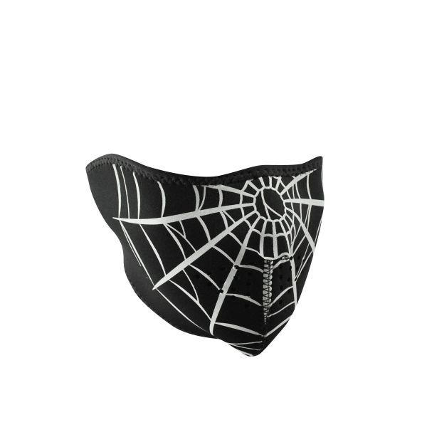Neoprene Half Face - Spider Web