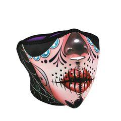 Half Face - Sugar Skull