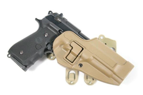 BLACKHAWK! S T R I K E  CQC Platform with Serpa Holster for Beretta