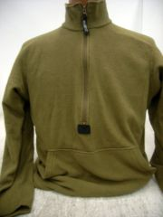 USMC Coyote Polartec Fleece Pullover | Medium | Used