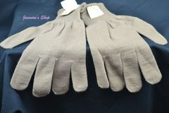 Coyote Brown Wool Gloves | New