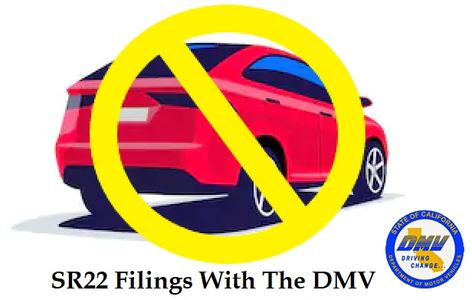 Non Owners SR22 Insurance In California SR22 DMV Filing SR22savings.com