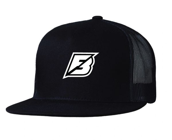 "Factory Backing ""F"" Icon Trucker hat puff ink"