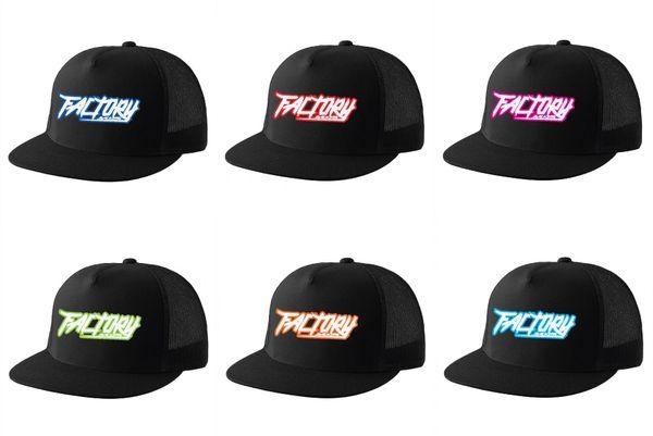 Factory Backing Punk Trucker hat