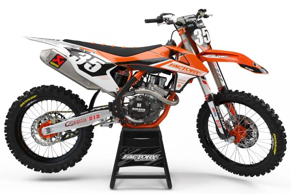 Sharp Semi Custom Factory Backing MX Graphics