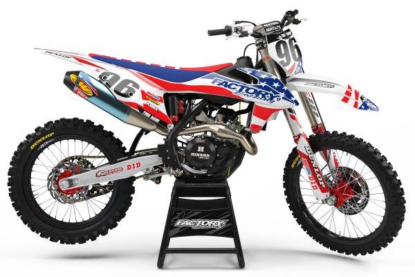 USA MGGA Series Semi Custom Factory Backing MX Graphics