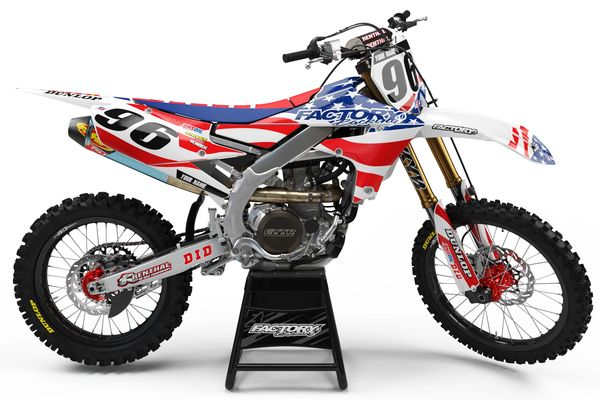USA MGGA Series Semi-Custom Factory Backing Yamaha Graphics