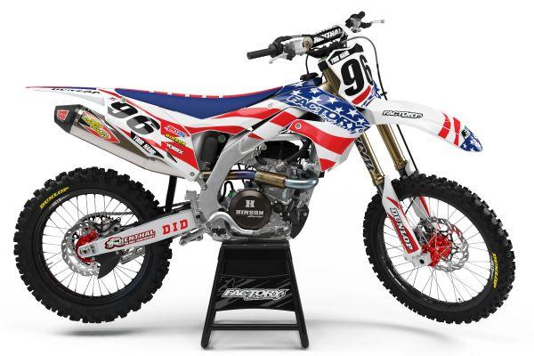USA MGGA Series Semi-Custom Factory Backing Kawasaki Graphics