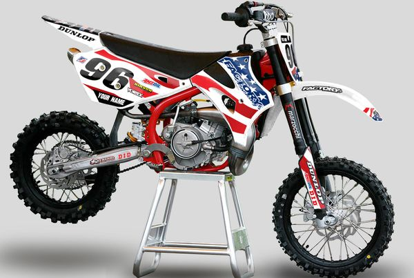 USA MGGA Series Cobra Semi Custom Factory Backing Graphics