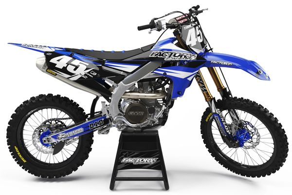 FAST GUY Series Semi-Custom Factory Backing Yamaha Graphics