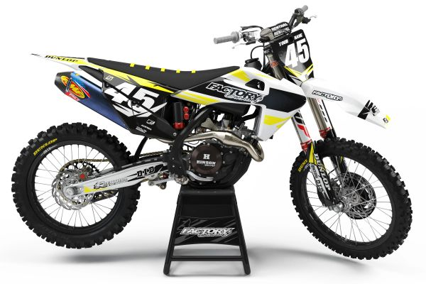FAST GUY Series Semi-Custom Factory Backing Husqvarna Graphics