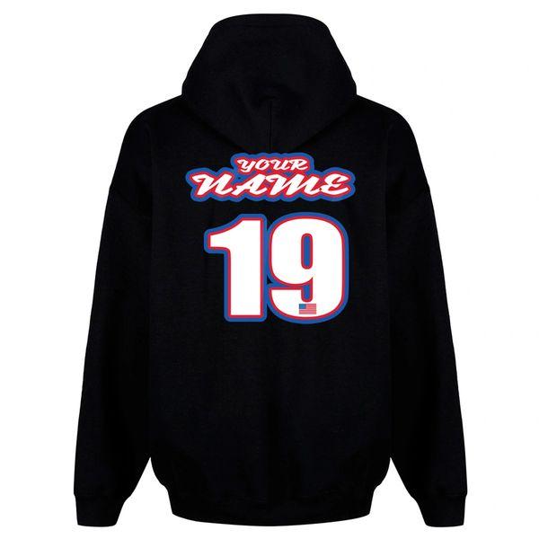 Pit Hoody Sweatshirt USA Custom MX clothing