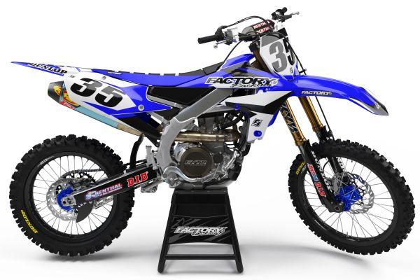 Rapid Semi-Custom Factory Backing Yamaha Graphics