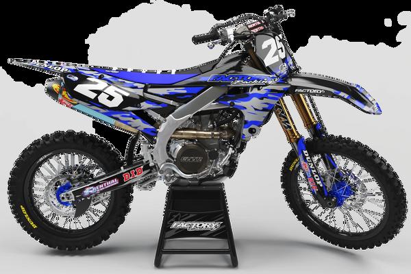 Camo Yamaha Semi Custom Factory Backing MX Graphics