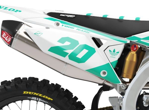 Suzuki Factory Backing Pre Printed Backgrounds PL2 Series with 3 airbox logos