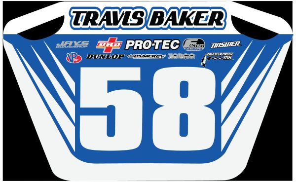 Custom Pit Board Your name/ colors/ sponsors
