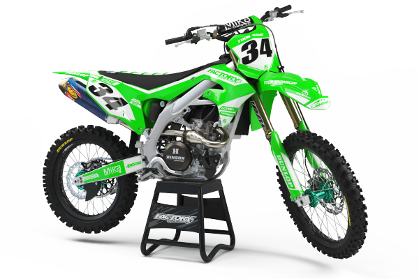 PL3 Series Semi-Custom Factory Backing Kawasaki Graphics