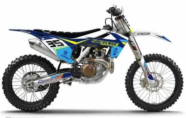 Fast Series Semi-Custom Factory Backing Husqvarna Graphics