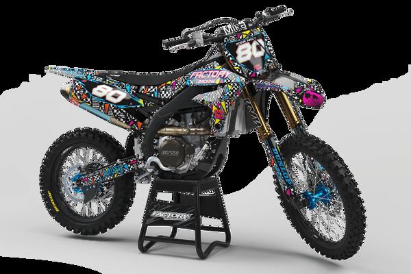 Retro 80's Series Semi-Custom Factory Backing Yamaha Graphics