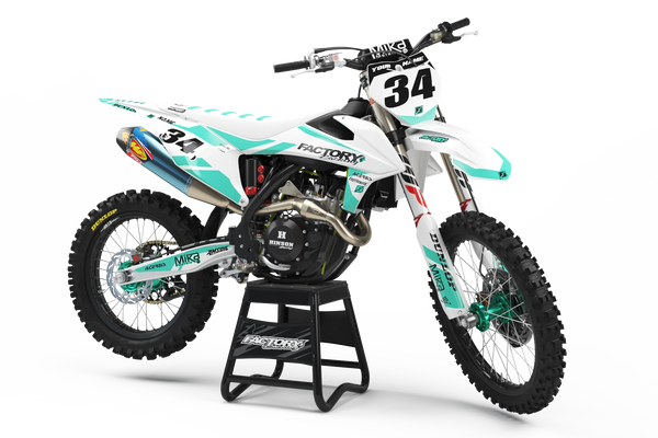 Slain Semi Custom Factory Backing MX Graphics